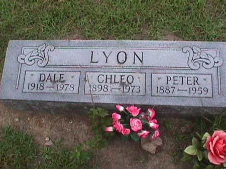 LYON, PETER - Henry County, Iowa | PETER LYON