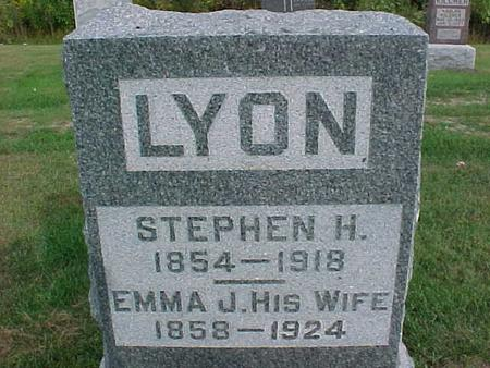 LYON, STEPHEN H - Henry County, Iowa | STEPHEN H LYON