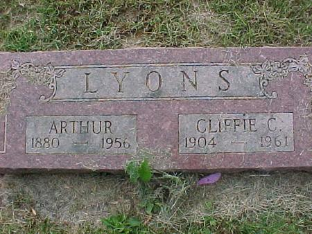 LYONS, CLIFFIE C - Henry County, Iowa | CLIFFIE C LYONS