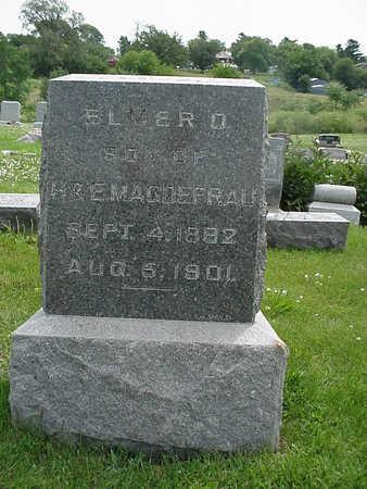 MAGDEFRAU, ELMER O. - Henry County, Iowa | ELMER O. MAGDEFRAU