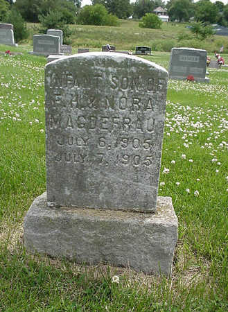 MAGDEFRAU, INFANT SON - Henry County, Iowa | INFANT SON MAGDEFRAU