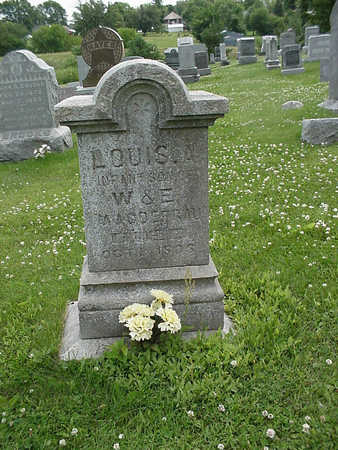 MAGDEFRAU, LOUIS A,, INFANT SON - Henry County, Iowa | LOUIS A,, INFANT SON MAGDEFRAU