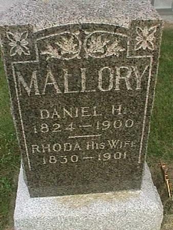 MALLORY, DANIEL H - Henry County, Iowa | DANIEL H MALLORY