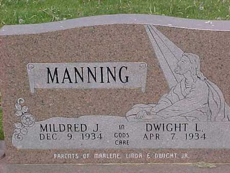 MANNING, MILDRED - Henry County, Iowa | MILDRED MANNING