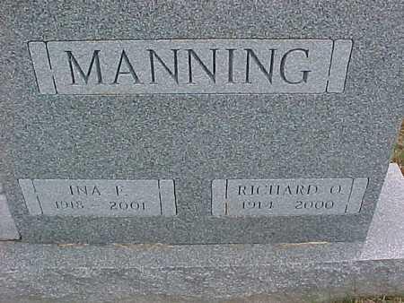 MANNING, RICHARD - Henry County, Iowa | RICHARD MANNING