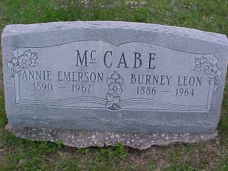 EMERSON MCCABE, ANNIE - Henry County, Iowa | ANNIE EMERSON MCCABE