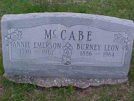 MCCABE, ANNIE - Henry County, Iowa | ANNIE MCCABE