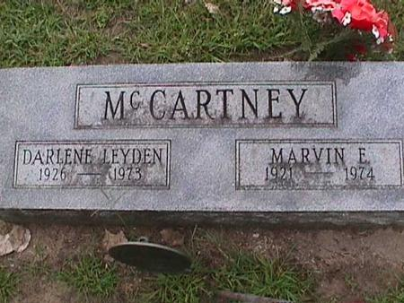 MCCARTNEY, MARVIN E - Henry County, Iowa | MARVIN E MCCARTNEY