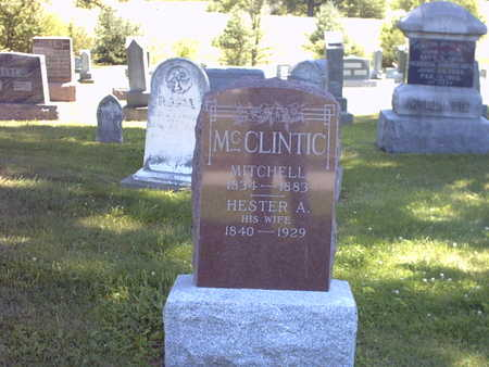 CUSTER MCCLINTIC, HSETER A. - Henry County, Iowa | HSETER A. CUSTER MCCLINTIC