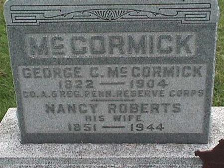 ROBERTS MCCORMICK, NANCY - Henry County, Iowa | NANCY ROBERTS MCCORMICK