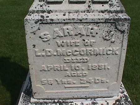 MCCORMICK, SARAH - Henry County, Iowa | SARAH MCCORMICK
