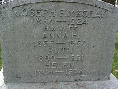 MCCRAY, JOSEPH G - Henry County, Iowa | JOSEPH G MCCRAY