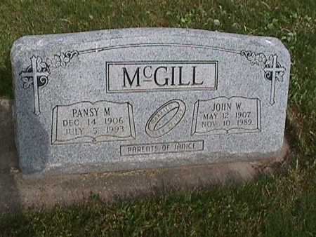 MCGILL, JOHN - Henry County, Iowa | JOHN MCGILL