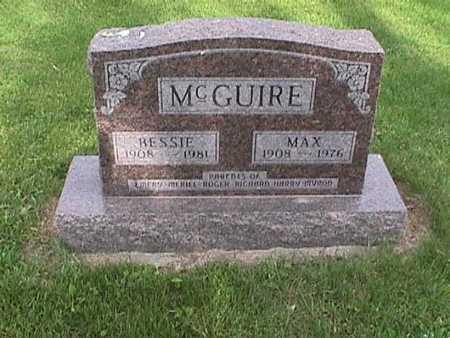 MCGUIRE, BESSIE - Henry County, Iowa | BESSIE MCGUIRE