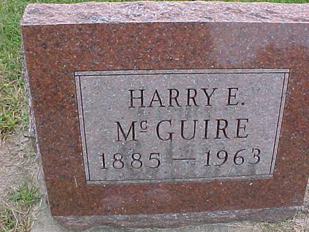 MCGUIRE, HARRY E - Henry County, Iowa | HARRY E MCGUIRE