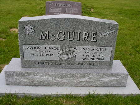 WENGER MCGUIRE, LAVONNE CAROL - Henry County, Iowa | LAVONNE CAROL WENGER MCGUIRE