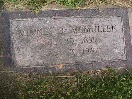 MCMULLEN, MINNIE - Henry County, Iowa | MINNIE MCMULLEN
