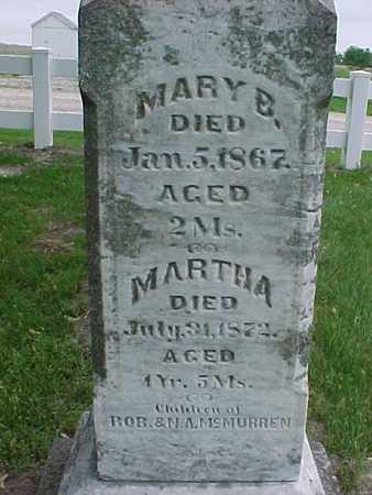 MCMURREN, MARTHA - Henry County, Iowa | MARTHA MCMURREN