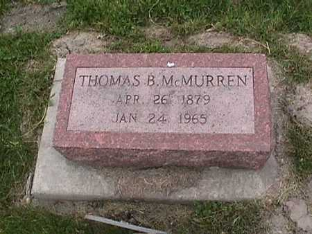 MCMURREN, THOMAS B. - Henry County, Iowa | THOMAS B. MCMURREN