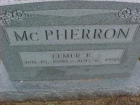 MCPHERRON, ELMER - Henry County, Iowa | ELMER MCPHERRON
