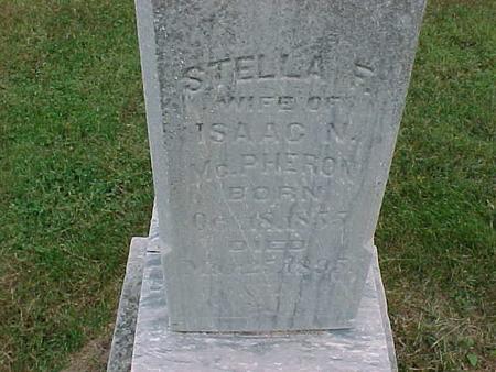 MCPHERRON, STELLA - Henry County, Iowa | STELLA MCPHERRON