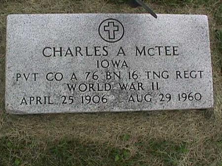 MCTEE, CHARLES - Henry County, Iowa | CHARLES MCTEE