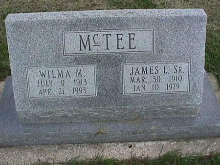 MCTEE, JAMES SR. - Henry County, Iowa | JAMES SR. MCTEE
