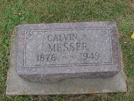 MESSER, CALVIN A. - Henry County, Iowa | CALVIN A. MESSER