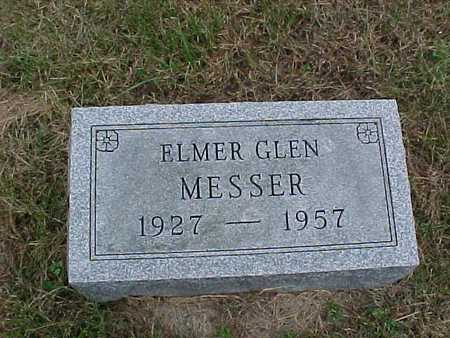 MESSER, ELMER GLEN - Henry County, Iowa | ELMER GLEN MESSER