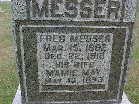 MESSER, MAMIE - Henry County, Iowa | MAMIE MESSER
