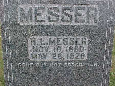 MESSER, H. L. - Henry County, Iowa | H. L. MESSER