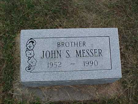 MESSER, JOHN S. - Henry County, Iowa | JOHN S. MESSER