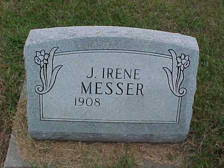 MESSER, J. IRENE - Henry County, Iowa | J. IRENE MESSER