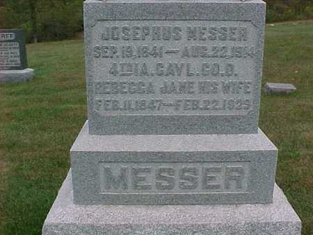 MESSER, JOSEPHUS - Henry County, Iowa | JOSEPHUS MESSER