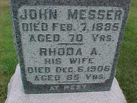 MESSER, RHODA - Henry County, Iowa | RHODA MESSER