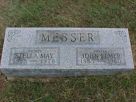 MESSER, STELLA MAY - Henry County, Iowa | STELLA MAY MESSER