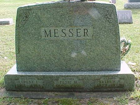 MESSER, LORENE L - Henry County, Iowa | LORENE L MESSER