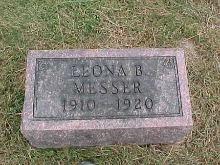 MESSER, LEONA B. - Henry County, Iowa | LEONA B. MESSER