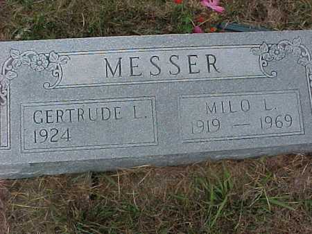 MESSER, GERTRUDE - Henry County, Iowa | GERTRUDE MESSER