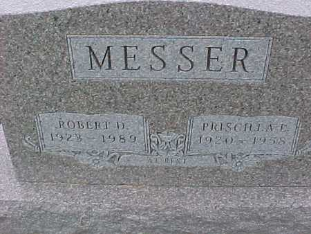 MESSER, PRISCILLA - Henry County, Iowa | PRISCILLA MESSER