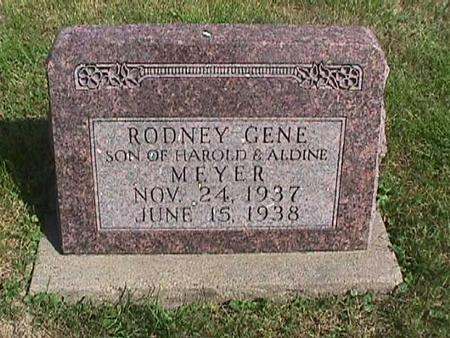 MEYER, RODNEY GENE - Henry County, Iowa | RODNEY GENE MEYER