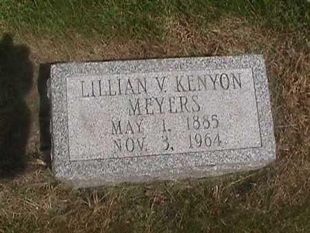KENYON MEYERS, LILLIAN - Henry County, Iowa | LILLIAN KENYON MEYERS