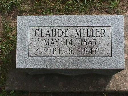 MILLER, CLAUDE - Henry County, Iowa | CLAUDE MILLER