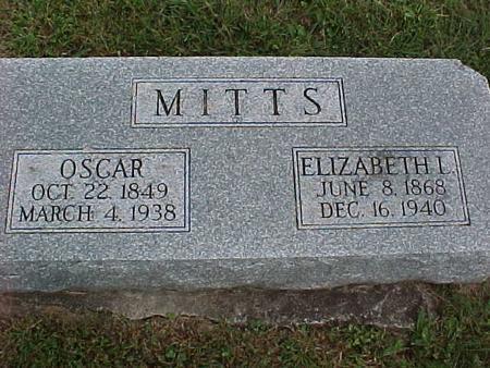 MITTS, ELIZABETH - Henry County, Iowa | ELIZABETH MITTS