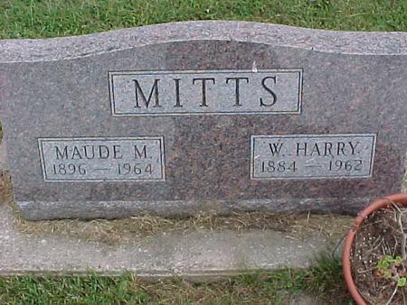 MITTS, MAUDE - Henry County, Iowa | MAUDE MITTS