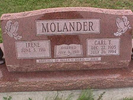 MOLANDER, CARL - Henry County, Iowa | CARL MOLANDER