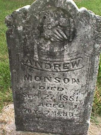 MONSON, ANDREW - Henry County, Iowa | ANDREW MONSON