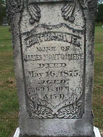 MONTGOMERY, CATHARINE - Henry County, Iowa | CATHARINE MONTGOMERY