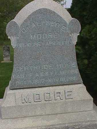 MOORE, GERTRUDE HOPE - Henry County, Iowa | GERTRUDE HOPE MOORE