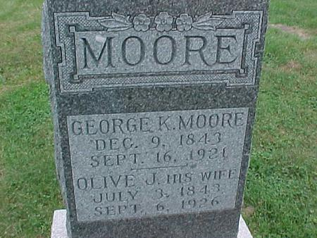 MOORE, GEORGE - Henry County, Iowa | GEORGE MOORE